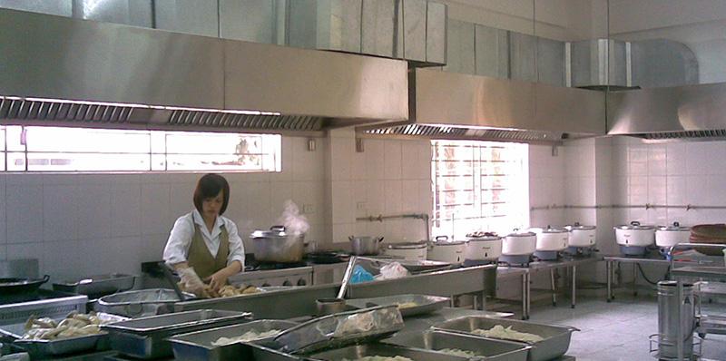Hệ thống hút mùi bếp ăn nhà hàng