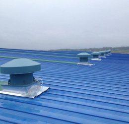 Quạt hút mái nhà xưởng chất lượng cao mang đến bầu không khí trong lành