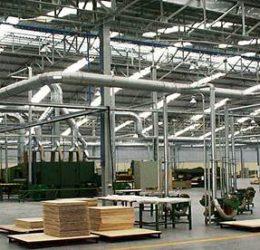 Lắp đặt hệ thống hút bụi xưởng gỗ với giá ưu đãi