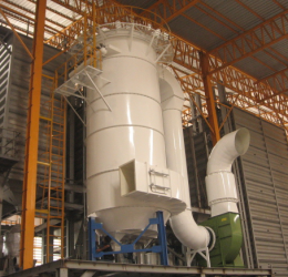 Hệ thống hút bụi tạo môi trường trong lành hơn cho mọi khu công nghiệp