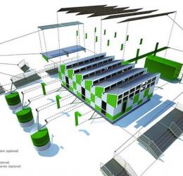 Những mẫu thiết kế hệ thống thông gió cho nhà xưởng